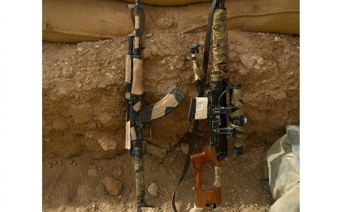 Syrian Combat Experience; How I Camouflaged My Rifles