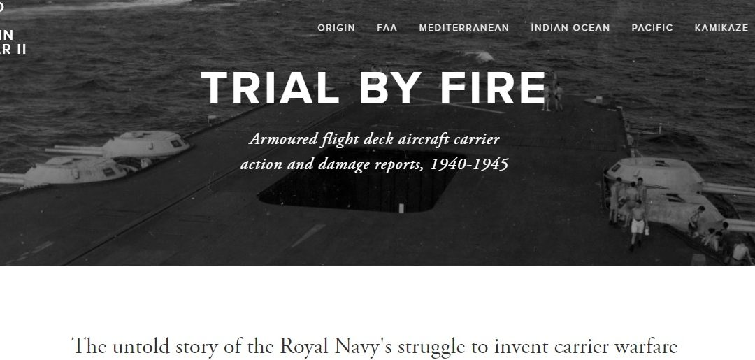 An Absolute Cracker of a Resource for Naval Historians; Armouredcarriers.com