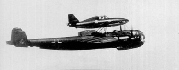 The Me 328; The Wunderwaffe Parasite Fighter