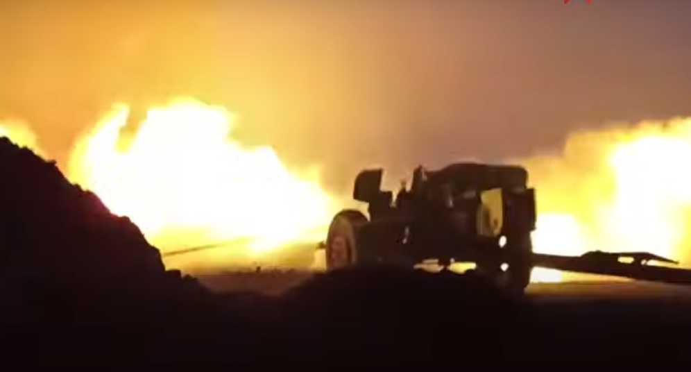 How Do Russians Put Out An Oil Fire? With An Anti-Tank Gun, Of Course!