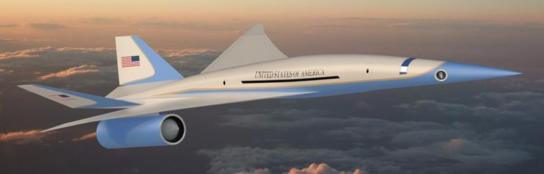 Supersonic Air Force One? Exosonic Awarded Contract to Develop Low-Boom Aircraft – Overt Defense