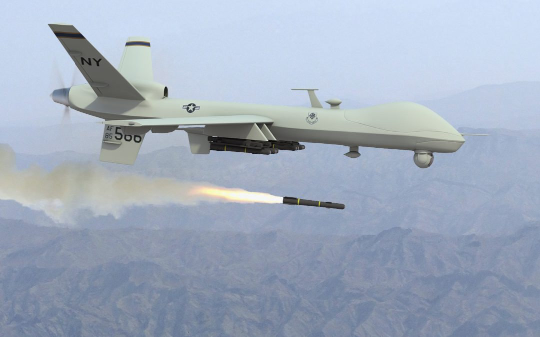 The First Use of UAVs to Attack an Enemy