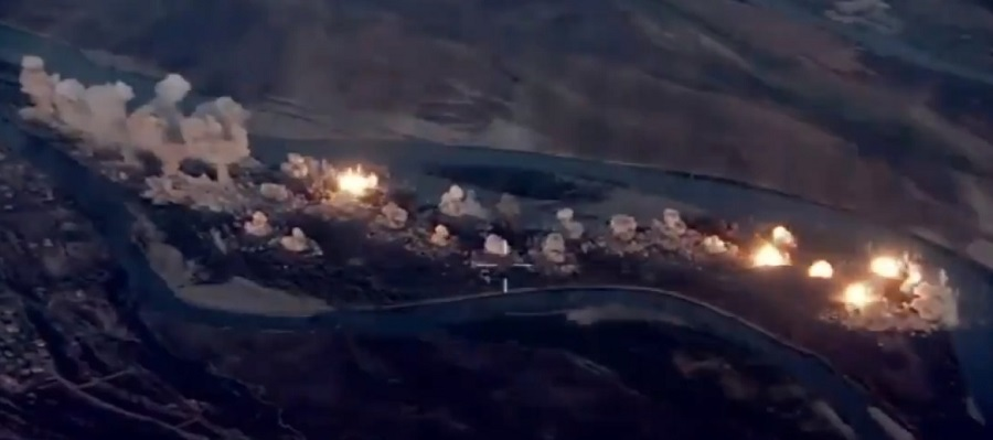 USAF Blast ISIS Stronghold in Iraq