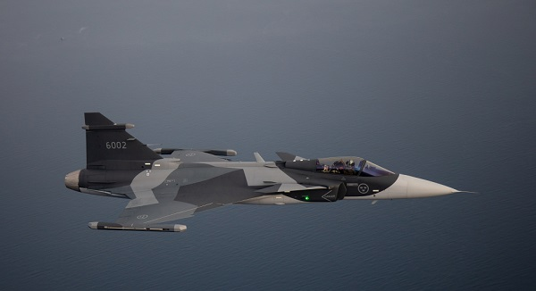 Saab Gripen Goes Up Against F-18E and F-35 for Canadian Fighter Contract