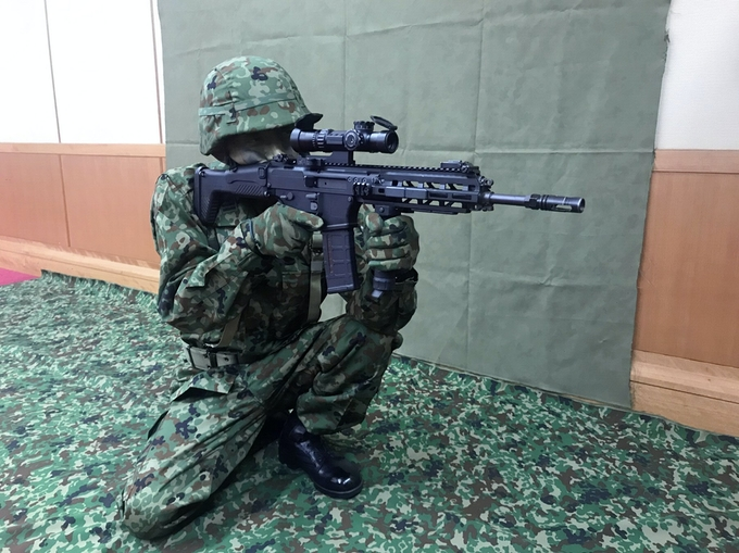 Japanese Self Defence Force Adopts New Type 20 Rifle