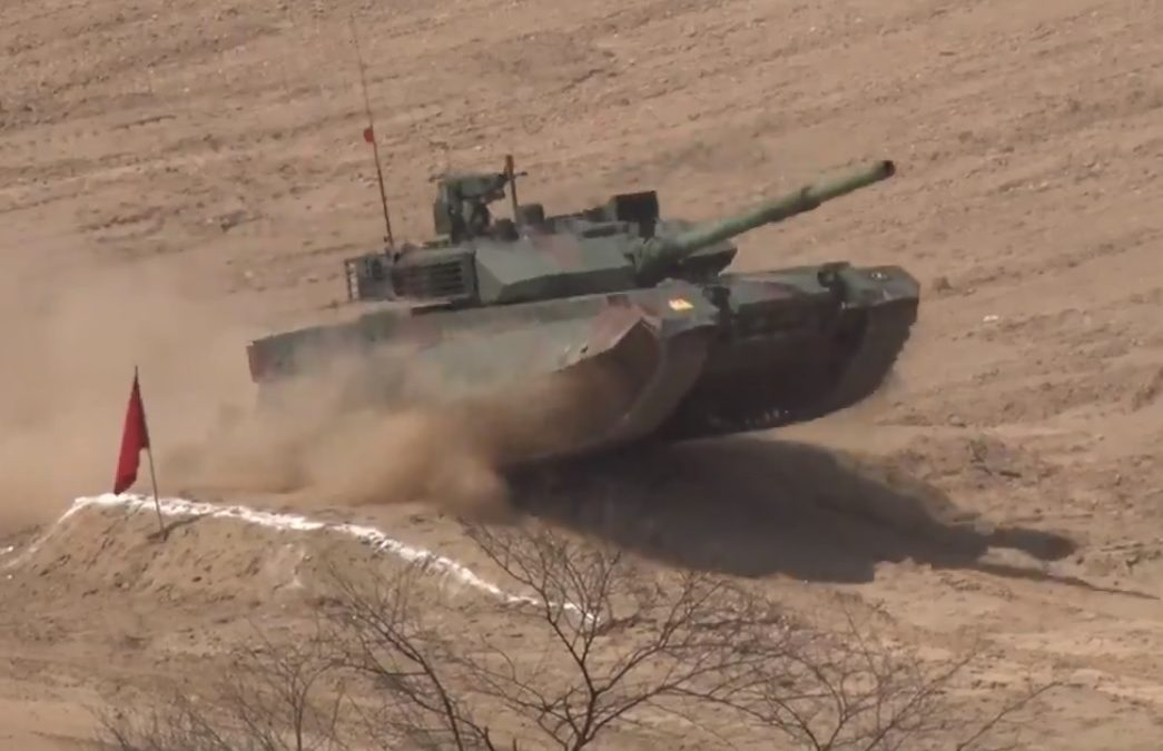 New VT-4 Tanks for Pakistan Army Demonstrated