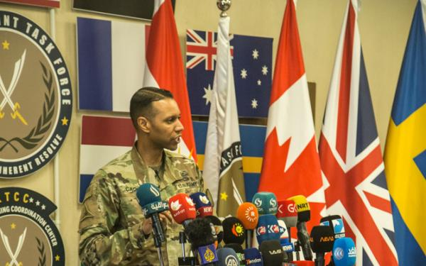 Winning the Information War: An Interview with Col. Myles Caggins – Former Spokesperson for the International Coalition Against ISIS Pt.1