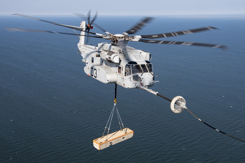 U.S. Navy Awards Sikorsky Contract To Build Six More CH-53K Heavy Lift Helicopters