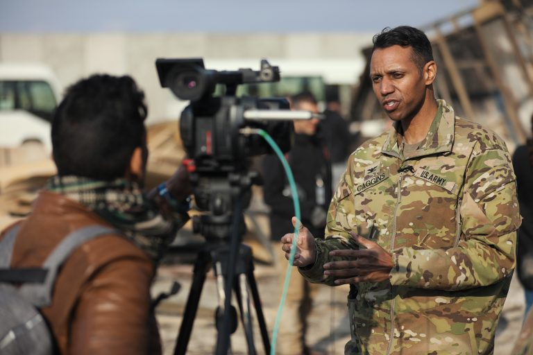 Winning the Information War: An Interview with Col. Myles Caggins – Former Spokesperson for the International Coalition Against ISIS Pt.2