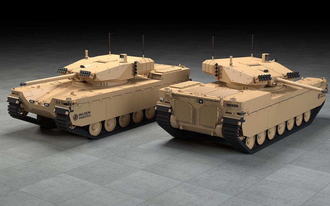 The Future of Armoured Warfare? Robots Are Getting Into Heavy Warfighting