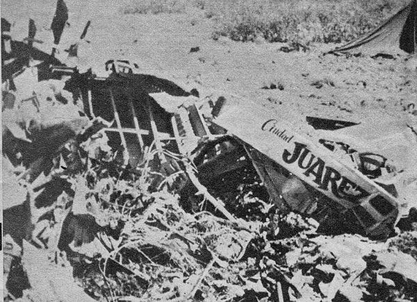 B-52 vs. F-100 Super Sabre; The Tragic Shooting Down of the Ciudad Juarez