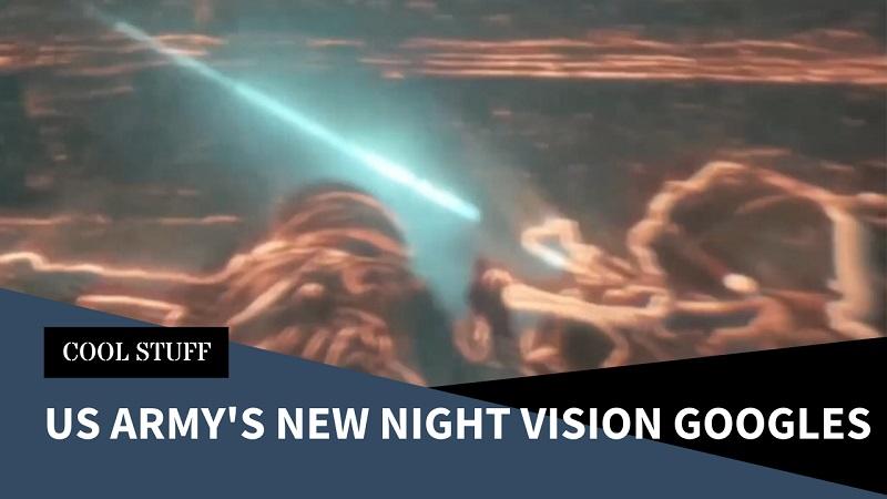 US Army New Enhanced Night Vision Goggle-Binoculars (ENVG-B) Demonstrated
