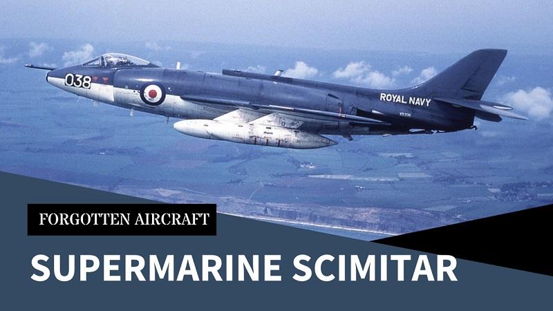 The Supermarine Scimitar; Not too Sharp