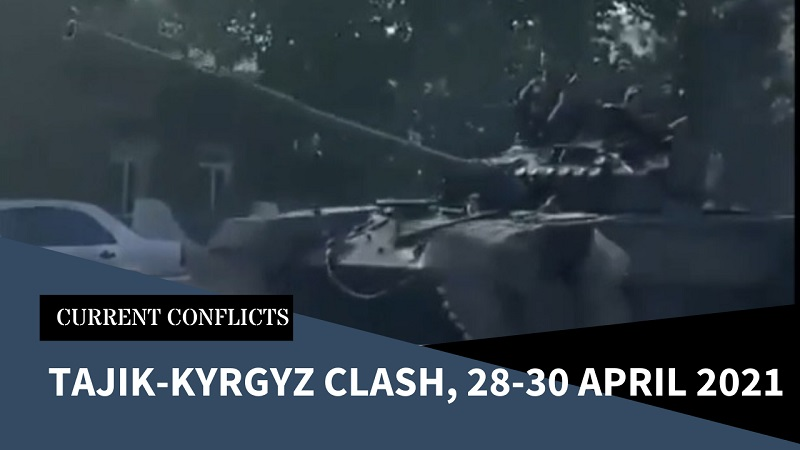 Violence Flares on Tajik-Kyrgyz Border as Village Fight Ends Up with Heavy Armour Deployed