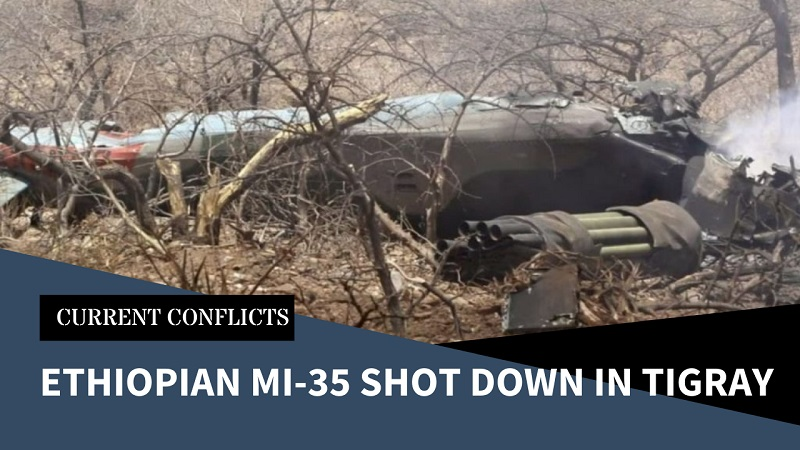 Tigray Rebels Shoot Down Mi-35 Attack Helicopter as Reports of Atrocities on Both Sides Continue