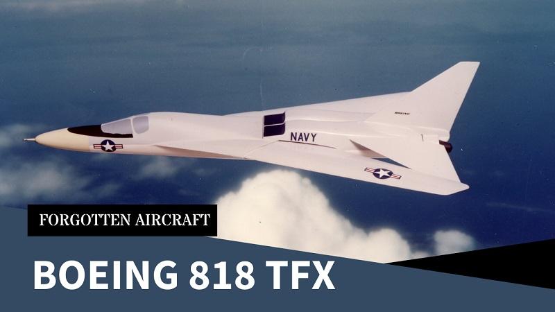 Boeing 818 TFX; The Actual Aardvark?