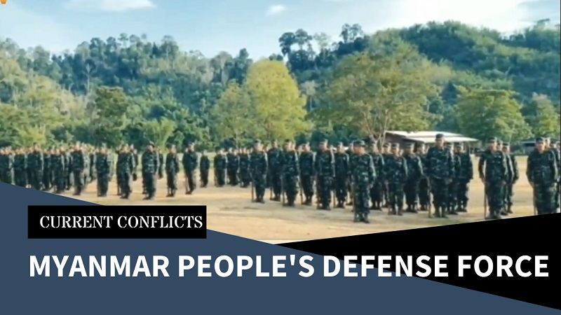 New Military Outfit Forming in Myanmar – the Peoples Defence Force of the National Unity Government