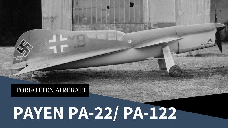 The Payen PA-22/-122; the First (Proposed) Delta Canard Fighter
