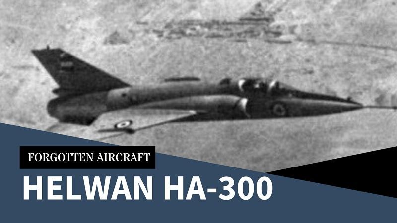 The Helwan HA-300; Egypt's Messerschmitt