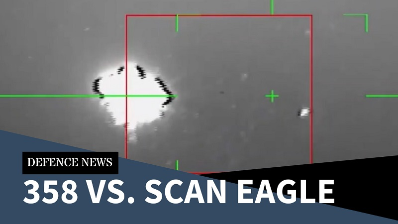 358 vs. Scan Eagle – Anti-Drone Action