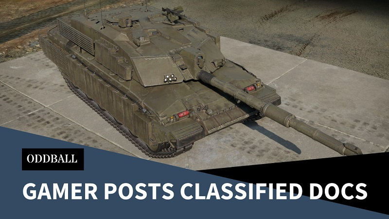 Classified Challenger 2 Documents Posted by Gamer