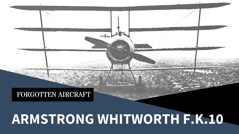 """Armstrong Whitworth F.K.10; """"Two Wings Good, Four Wings…Better?"""""""