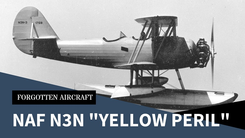 """The Other """"Yellow Peril""""; Naval Aircraft Factory N3N"""