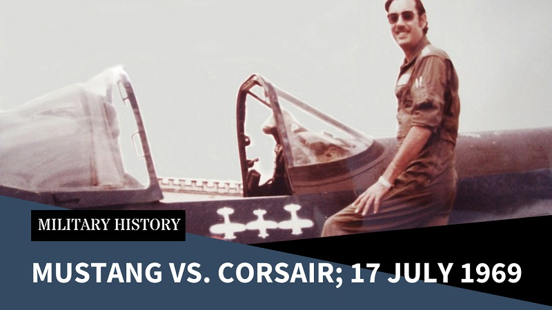 Mustang vs. Corsair; the Last Piston Engine Dogfights
