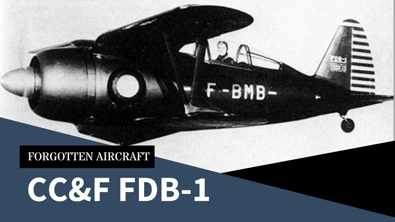 The CC&F FDB-1; When People Don't Want to See the Writing on the Wall