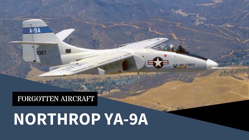As Sweet as a Warthog! The Northrop YA-9A