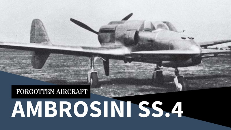 The Ambrosini SS.4 – Italy's Deadly Duck