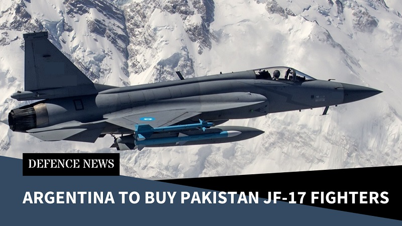Argentina Looking to Buy Pakistan JF-17 Fighters