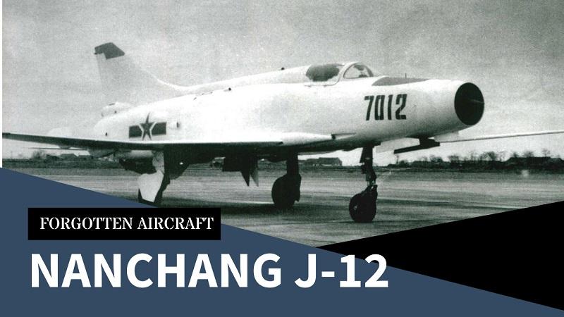 Nanchang J-12; China's First Lightweight Fighter