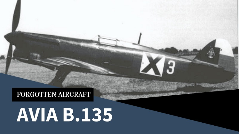 """Avia B.135; The Czechoslovak """"Almost Was"""" That Became a Bulgarian Bomber Killer"""